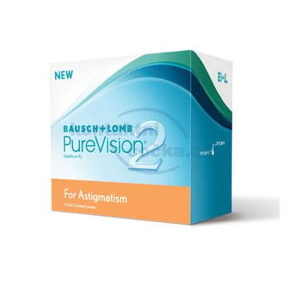 měsíční torické čočky PureVision 2HD for Astigmatism