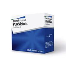 měsíční kontaktní čočky PureVision
