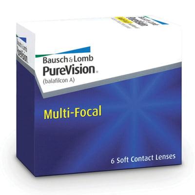 měsíční multifokální čočky PureVision Multi-Focal