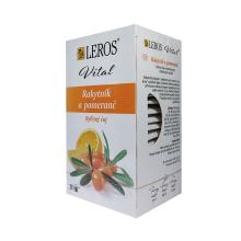 Bylinný čaj Leros Vital Rakytník a pomeranč 20x 1,5 g