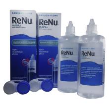 roztok na kontaktní čočky RENU Multiplus 2x 360 ml s pouzdry