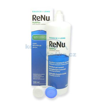 roztok na kontaktní čočky ReNu MultiPlus 500 ml s pouzdrem