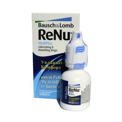 zvlhčovací oční kapky ReNu MultiPlus Drops 8 ml