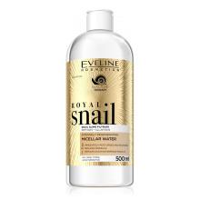 Eveline ROYAL SNAIL Intenzivně regenerující micelární voda 3v1 500 ml
