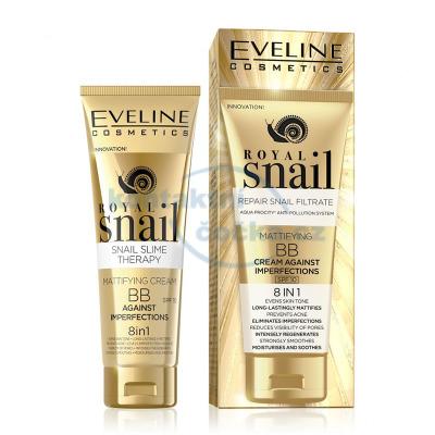 Eveline ROYAL SNAIL Matující BB krém 8v1 50 ml