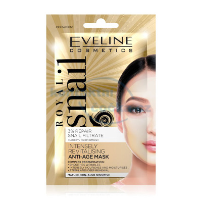 Eveline Royal Snail pleťová maska Anti-Age 2x 5 ml