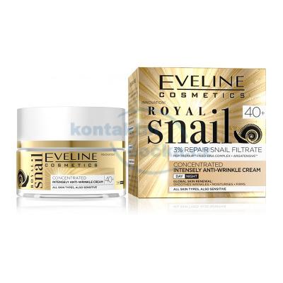 Eveline ROYAL SNAIL Liftingový denní a noční krém 40+ 50 ml