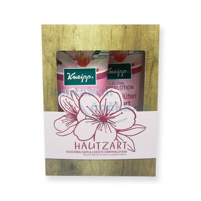 Kneipp Dárková sada Sprchový gel a tělové mléko Mandlové květy 2x 200 ml