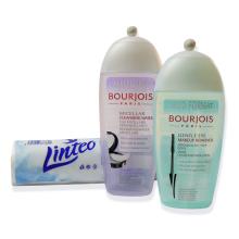 Odličovací sada - jemný odličovač očí 200 ml, micelární voda 250 ml a kosmetické tampony 100 ks