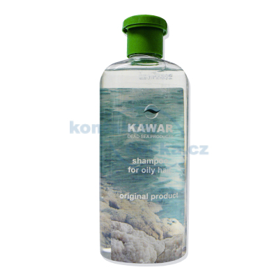 Kawar Šampon na mastné vlasy s minerály z Mrtvého moře 400 ml