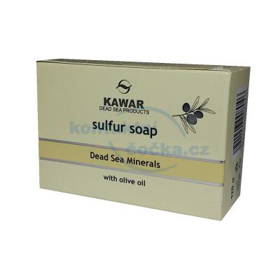 Kawar Sírové mýdlo s minerály a olivovým olejem z Mrtvého moře 120g