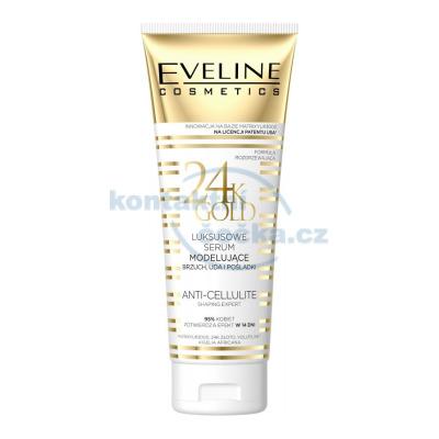 Eveline Slim Therapy 24kGold modelující luxusní sérum 250 ml