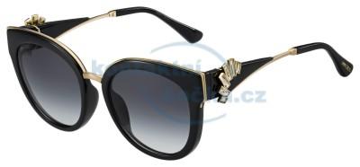 sluneční brýle s náušnicemi Jimmy Choo JADE/S 1A5