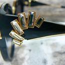 sluneční brýle Jimmy Choo JADE - detail naušnice na stranici
