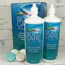 roztok na kontaktní čočky SoloCare Aqua 2x 360 ml a pouzdra
