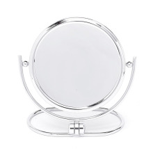 Stolní kosmetické oboustranné zrcadlo se zvětšením 3x