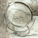 Kosmetické zrcátko oboustranné - 3x zvětšení