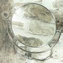 Kosmetické zrcátko oboustranné zvětšovací - průměr 14,5 cm
