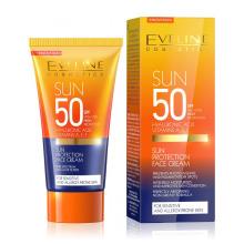 Eveline SUN opalovací krém na obličej s SPF 50 50 ml