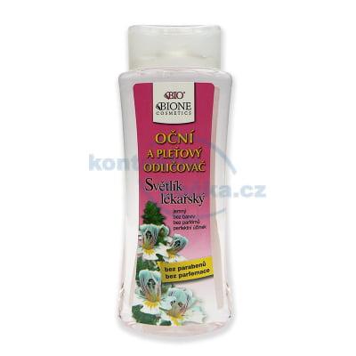 Bione Cosmetics Světlík lékařský oční a pleťový odličovač 255 ml