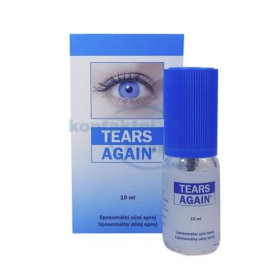 oční zvlhčující sprej Tears Again 10 ml