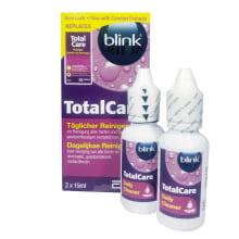 Total Care čistič na tvrdé čočky 2x 15 ml