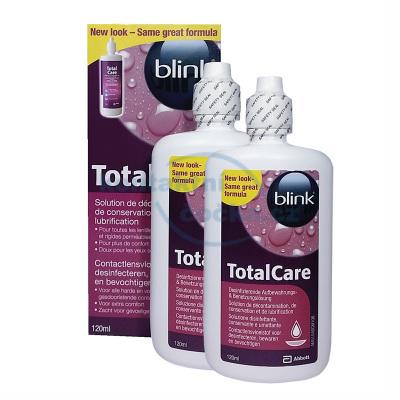 roztok na tvrdé kontaktní čočky Total Care 2x 120 ml
