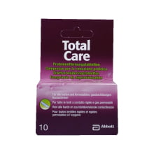 Tablety na čištění tvrdých a plynopropustných čoček Total Care 10 tablet