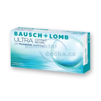 Bausch + Lomb měsíční kontaktní čočky ULTRA (6 čoček)