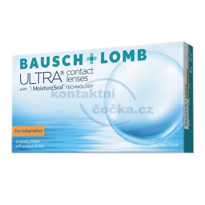 kontaktní čočky Ultra for Astigmatism (3 čočky)