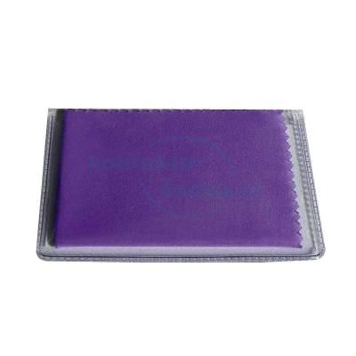 Centrostyle Hadřík na brýle z mikrovlákna 11x16,5 cm v obalu - fialový