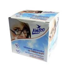 Čistící vlhčené ubrousky na brýle 50 ks