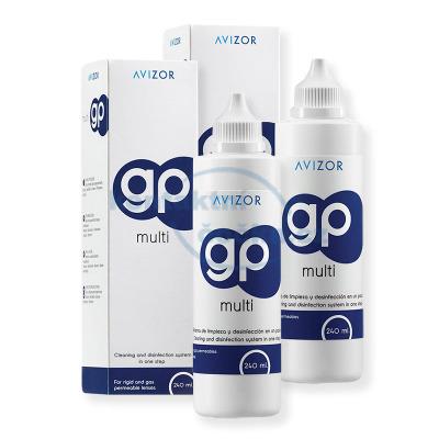 roztok na tvrdé kontaktní čočky Avizor GP MULTI 2x 240 ml