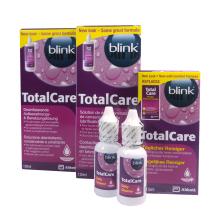 Výhodná sada Total Care - 2x roztok 120 ml a čistič 30 ml