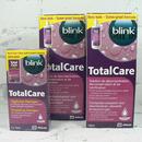 výhodná sada na tvrdé kontaktní čočky Total Care 2x roztok 120 ml a čistič 30 ml