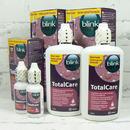 výhodná sada na tvrdé kontaktní čočky Total Care 2x roztok 120 ml + Total Care čistič 30 ml