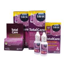 Výhodná sada Total Care - 2x roztok 120 ml, čistič 30 ml a tablety 10 ks