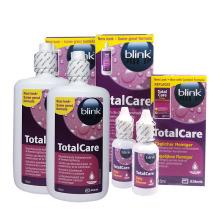 Výhodná sada Total Care 4x roztok 120 ml, čistič 30 ml a tablety 10 ks