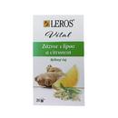 Bylinný čaj Leros Vital Zázvor s lípou a citronem 20x 1,5 g/1