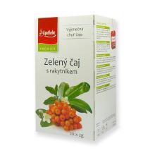 Zelený čaj s rakytníkem 20x 2 g