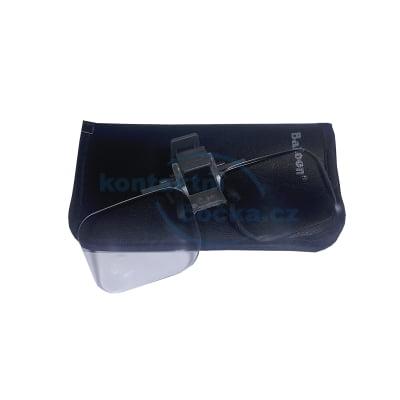Dioptra Zvětšovací klip na brýle výklopný