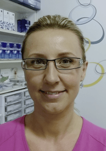registrovaný optometrista Mgr. Larisa Smělá